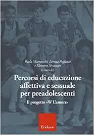 libro percorsi di educazione affettiva e sessuale